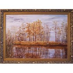 A szív csendjét hallgatva rátalálsz című festmény