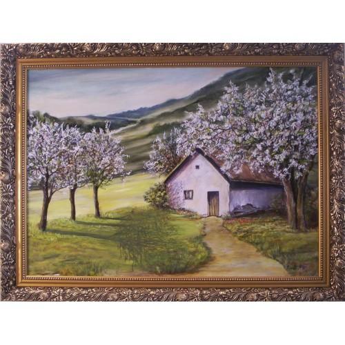 FLEUR LUMIÈRE modern festmény