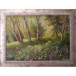 Fénye mindig bearanyozza életünk című festmény