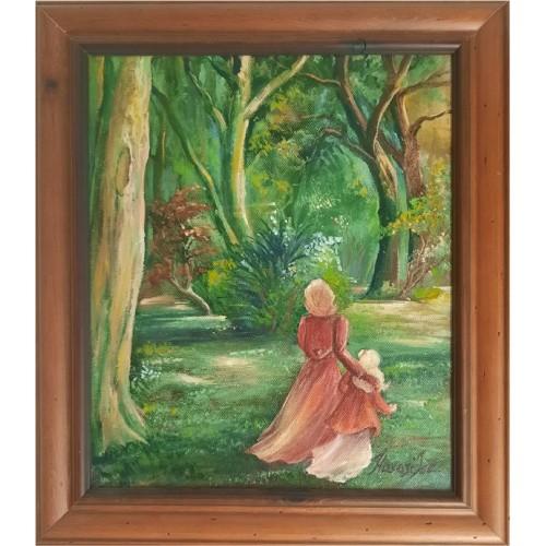 Dressing chair cream white