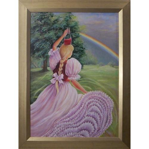 Dressing chair black