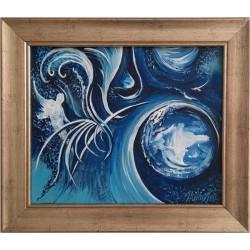 LIBRE ARBITRE modern festmény