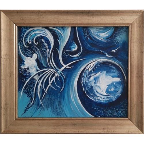 LIBRE ARBITRE modern painting