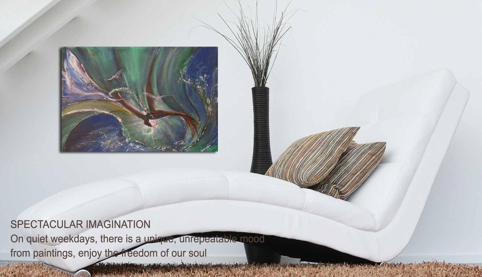 Hotel relax paintings, paintingdecoration for relaxing recreation