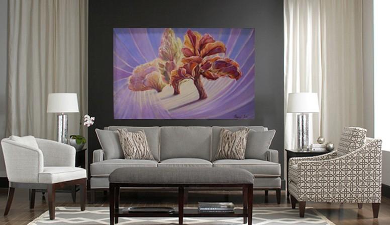 Festménydekoráció