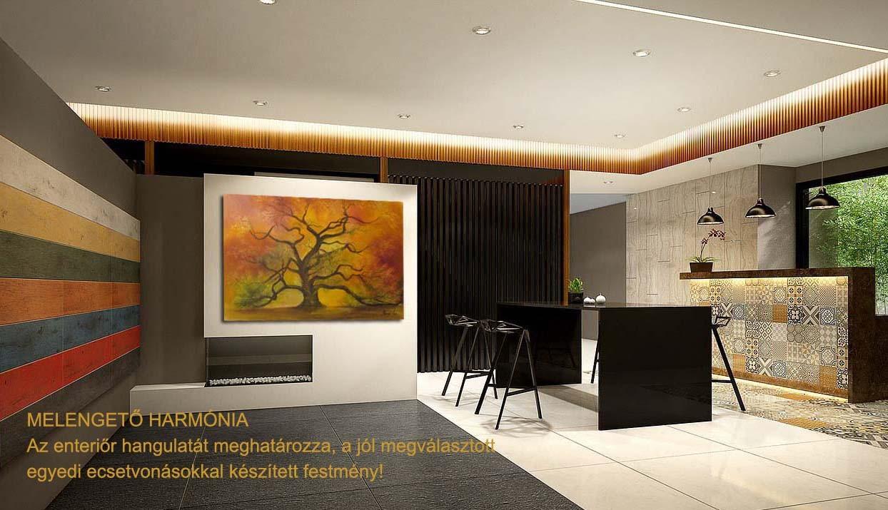 Festmény, falikép, mint modern design klasszikus
