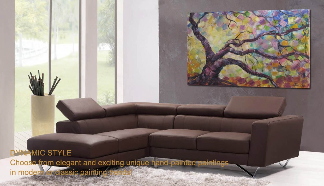 Dynamic style paintingdecoration
