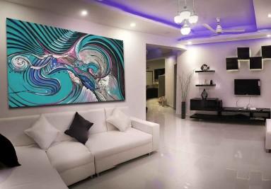 Festmény vászonkép lakásba